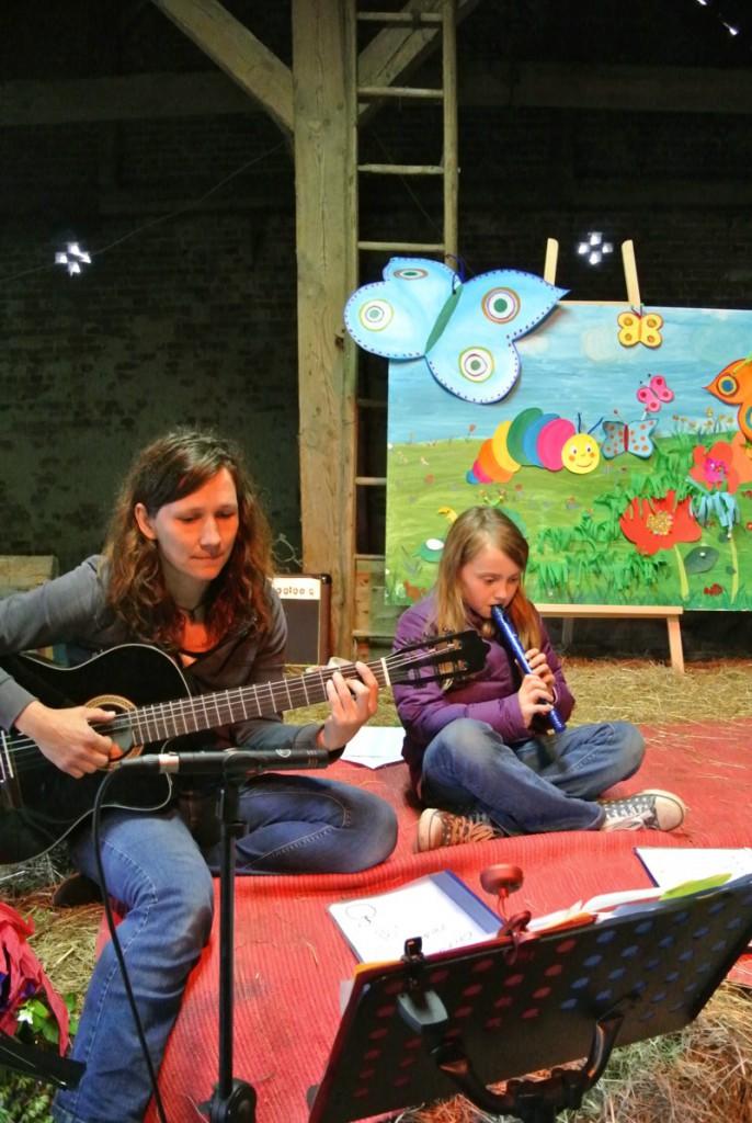 Kinderrabatz Herbsrfest 2015 - Petra Kleinke - Mitmach Musik für Kinder